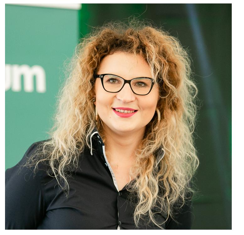 Karolina - koordynator programu Kuźnia Managerów